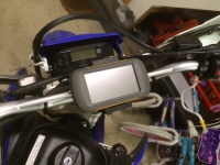 GPS finished mount